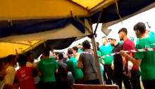 AKP Gençlik Kolları, Afet Koordinasyon Merkezi'ne saldırdı