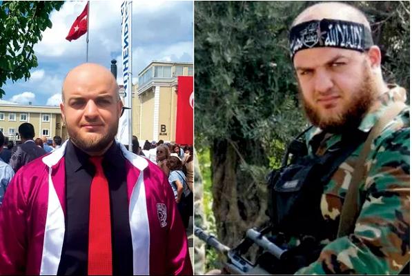 'Türkiye'de üniversite okuyan' terörist ….