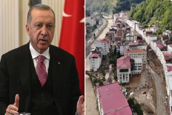 Erdoğan: Hep, dere yatağına ev yapmayın, dikey mimari yapmayın dedim