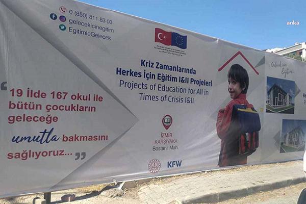 """""""İzmir'in en nezih semtinde mülteci okulunun ne işi var?"""""""
