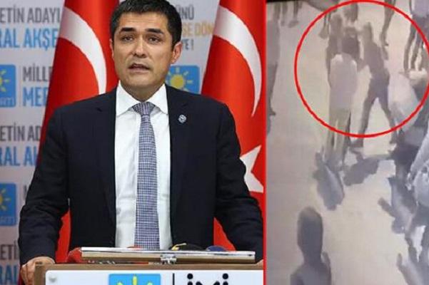 İYİ Parti İl Başkanı Buğra Kavuncu'ya saldıran MHP'li Sinan Oral tutulandı