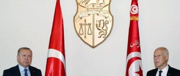 Erdoğan, Tunus Cumhurbaşkanı Kays Said ile telefonda görüştü
