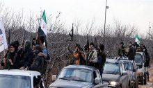 Hatay'a komşu İdlib'de, terör örgütü Taliban'ın 'Afganistan zaferi' kutlandı!