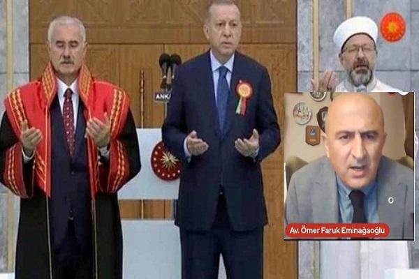Eminağaoğlu: Yargıtay başkanı anlamaktan acizse orada bir dakika oturmamalı