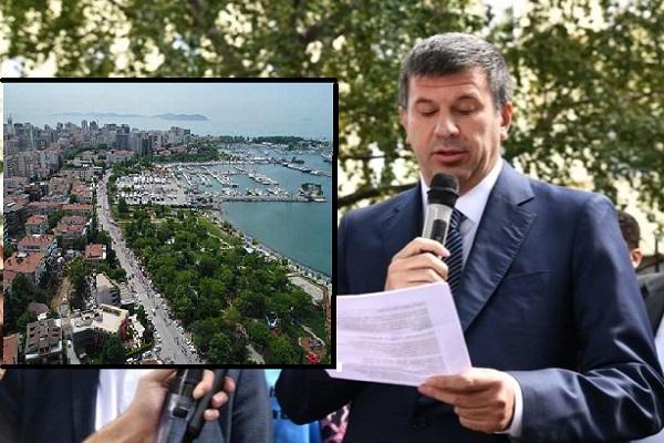 Kadıköy Belediye Başkanı tepkili: Kalamış Sahili'ne çöktürmeyeceğiz