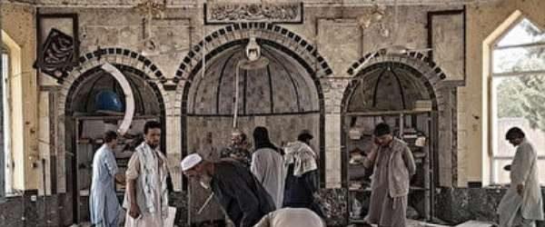 Afganistan'da Şiilere ait camiye yapılan saldırıyı IŞİD üstlendi